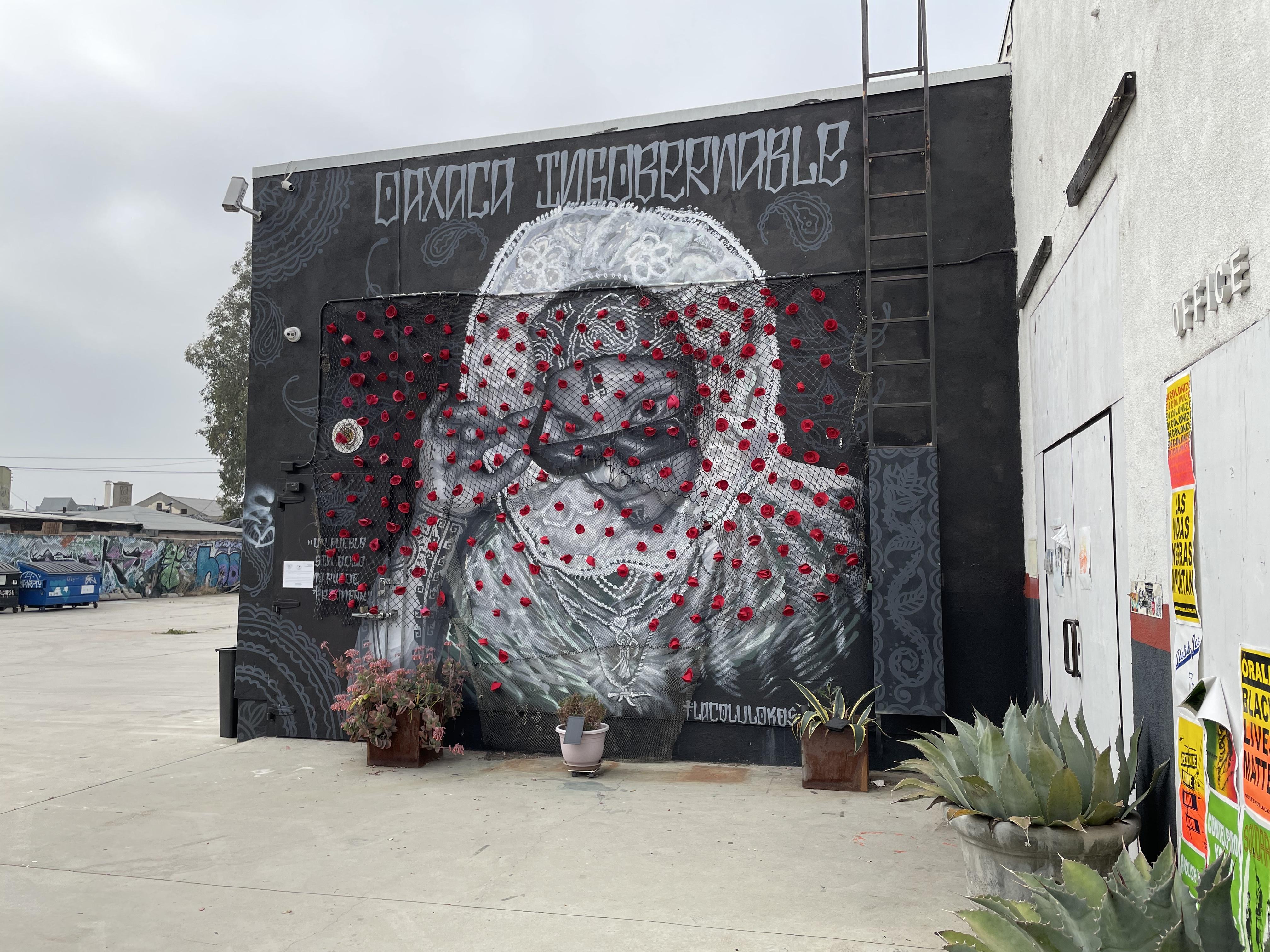 Oaxaca Ingobernable mural